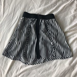 Silence and Noise striped skirt size S